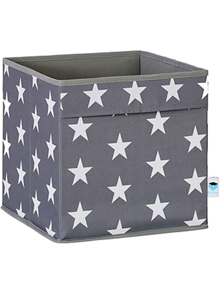 STORE IT Ordnungsbox in Grau/ Weiß - (B)30 x (H)30 x (T)30 cm