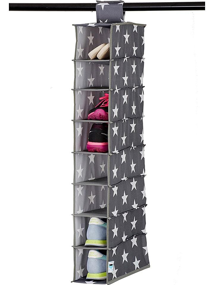 STORE IT Organizer w kolorze szaro-białym na buty - 15 x 100 x 30 cm
