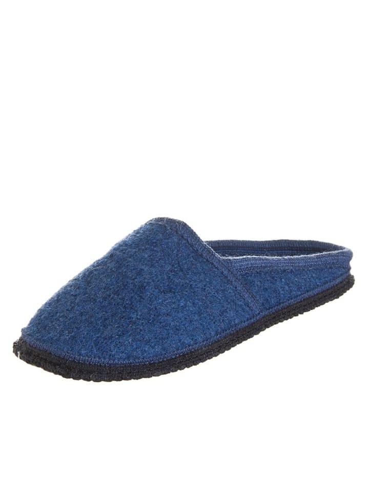 """Kitz-pichler Pantoffels """"Virgen"""" blauw"""
