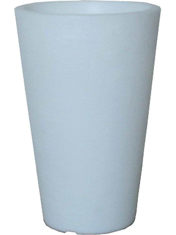 """8 seasons Lampa energooszczędna """"Shining Pot"""" w kolorze białym - wys. 100 cm"""