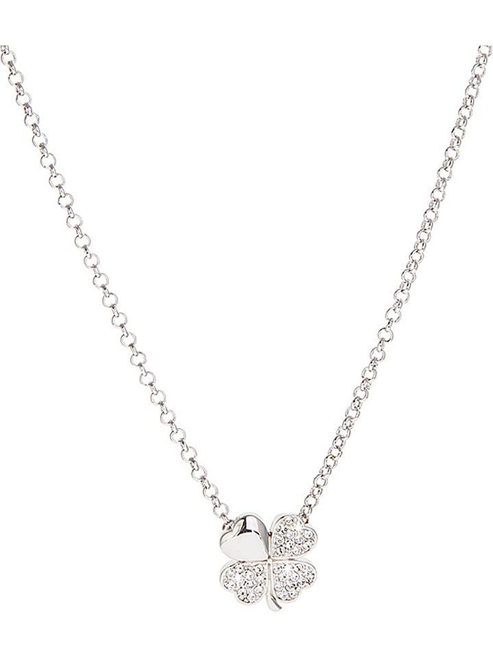 Destellos Halskette mit Swarovski-Kristallen - (L)45 cm