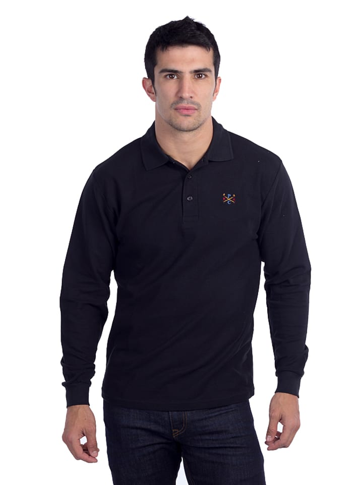 Polo Club Poloshirt zwart