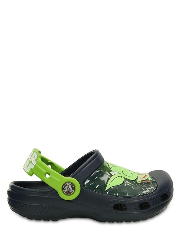 "Crocs Clogs ""CC Star Wars Yoda"" donkerblauw/groen"