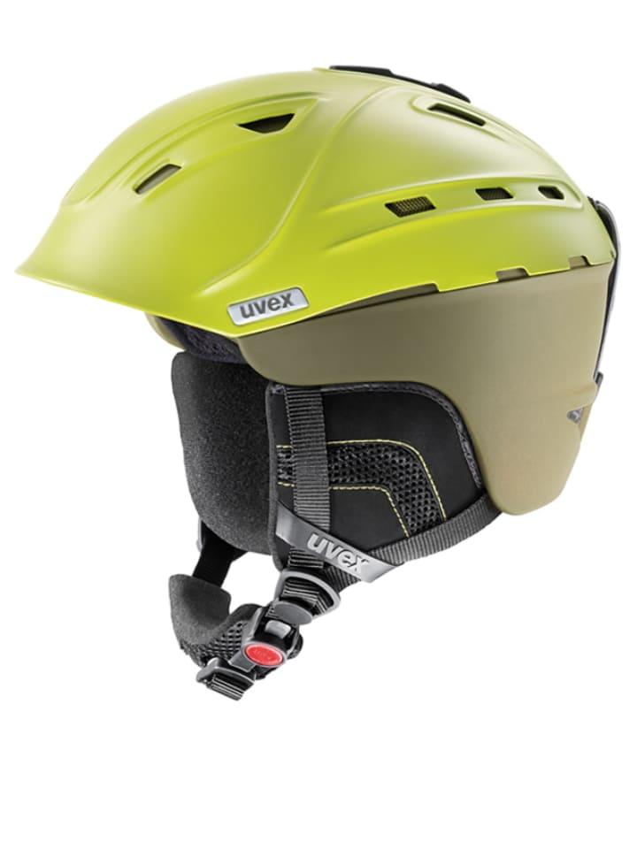 "Uvex Ski-/snowboardhelm ""P2us"" groen"