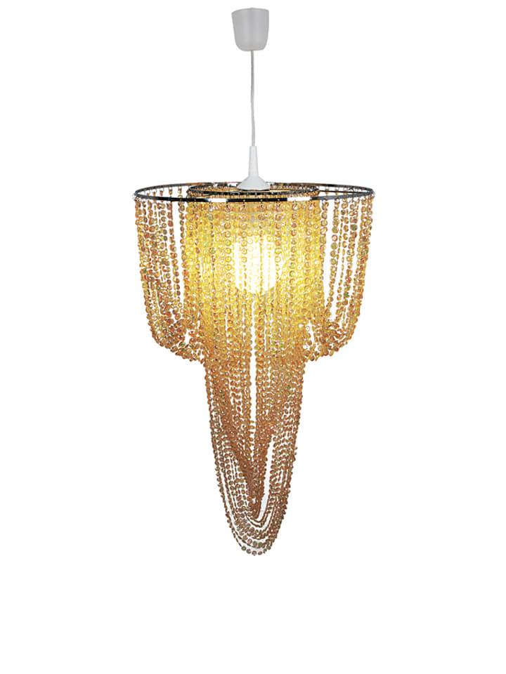 Näve Lampa wisząca w kolorze złotym - Ø 40 cm