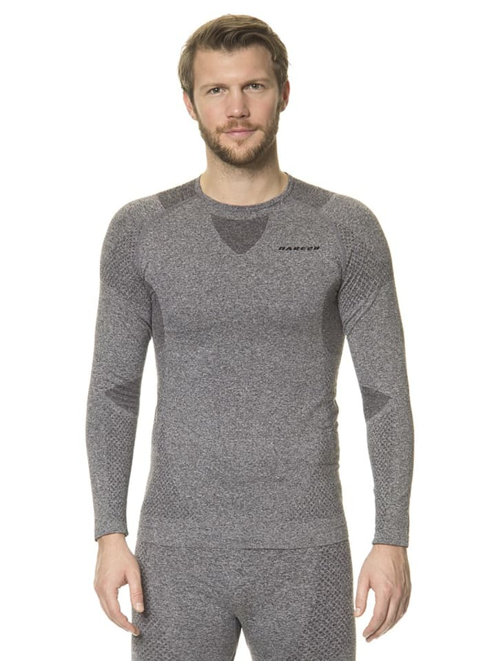 """Dare 2b T-shirt fonctionnel manches longues """"Zonal III"""" - gris/anthracite"""