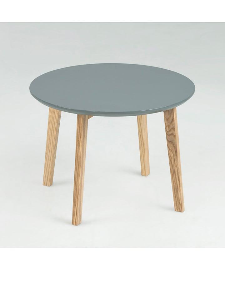 """AC Design Stolik """"Molina"""" w kolorze szarym - Ø 50 cm"""