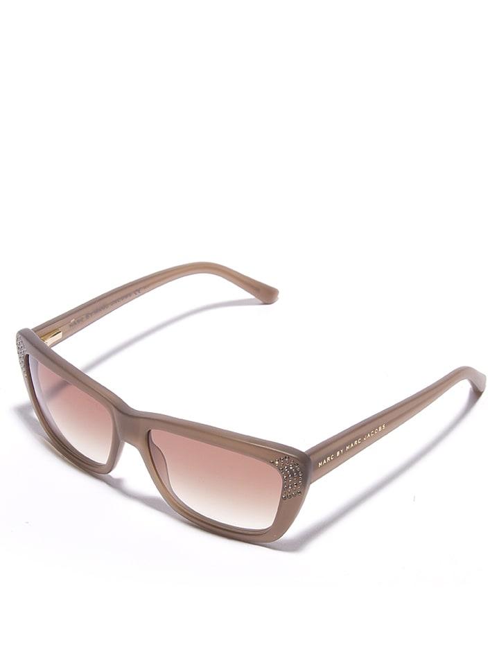 Marc Jacobs Okulary damskie w kolorze brązowym