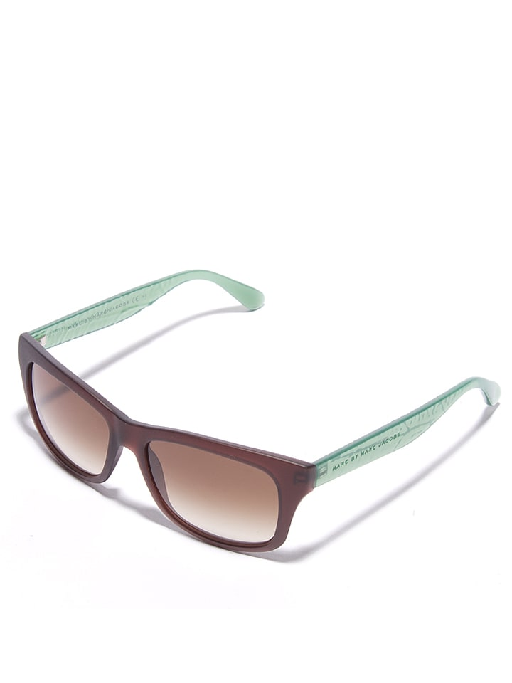 Marc Jacobs - Damen-Sonnenbrille in Braun-Mint/ Braun | limango Outlet