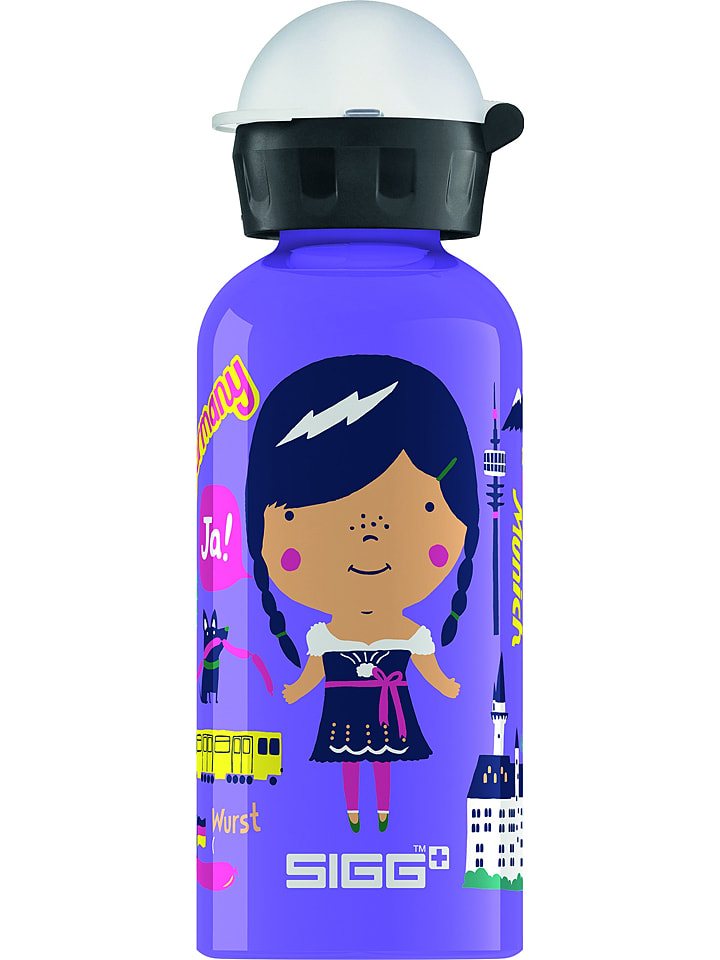 "SIGG Drinkfles ""Travel Girl Germany"" blauw - 400 ml"