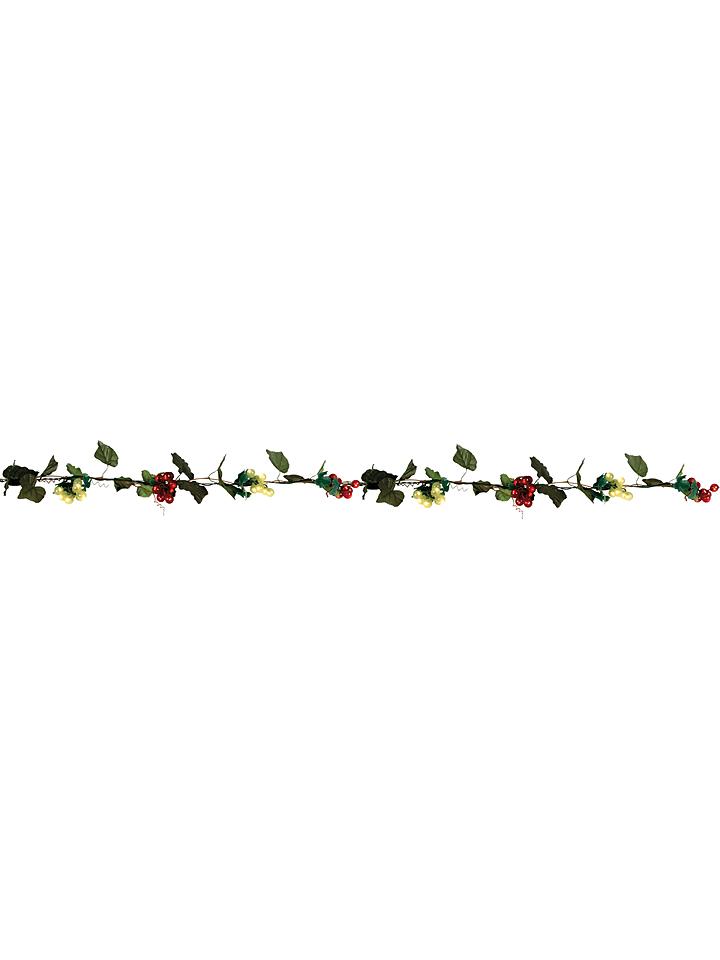 Näve Świecąca girlanda w kolorze zielono-czerwonym - dł. 200 cm