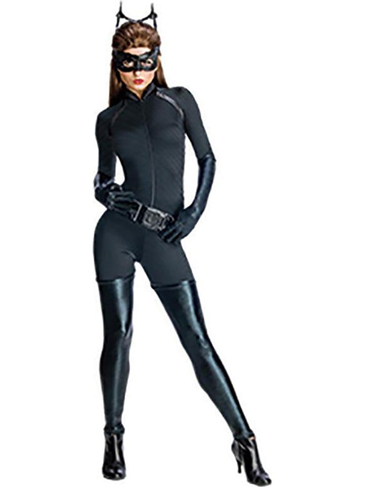 """Rubie`s 4tlg. Kostüm """"Catwoman"""" in Schwarz"""