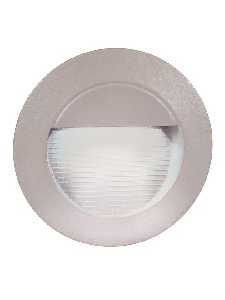 Näve Wpuszczana lampa LED w kolorze szarym - Ø 13 cm