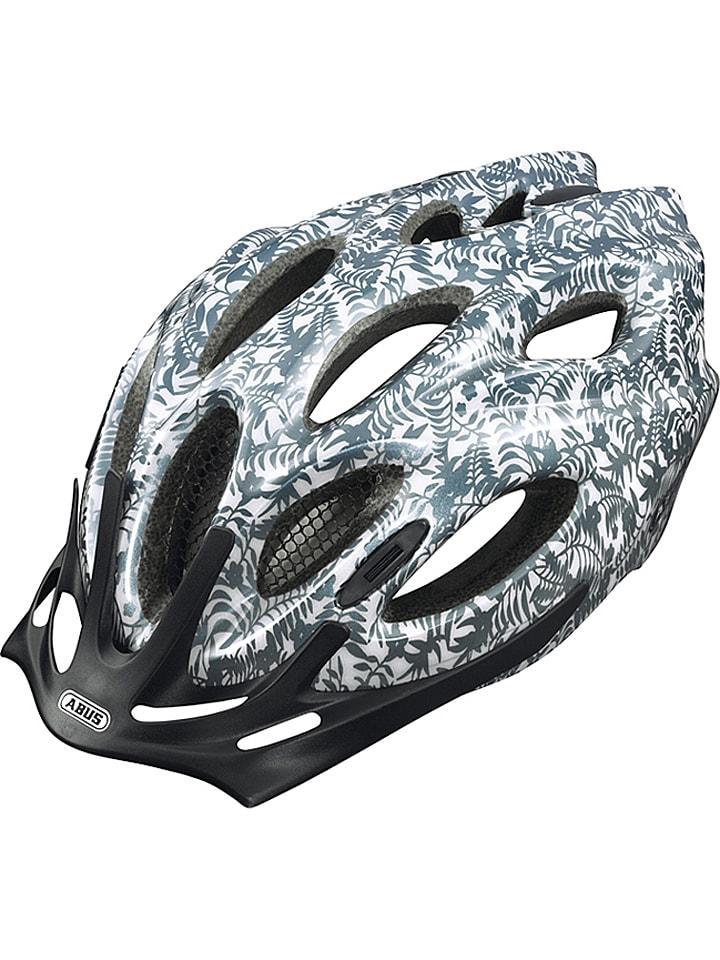 """ABUS Kask rowerowy """"Arica"""" w kolorze biało-antracytowym"""