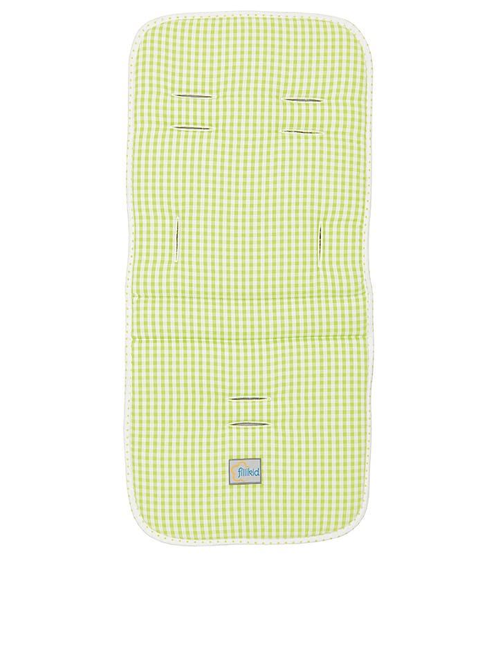 """Fillikid Wyściółka """"Mia"""" w kolorze zielono-białym - 75 x 33 cm"""