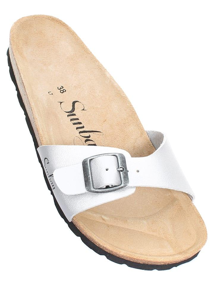 Sunbay Slippers - zilverkleurig