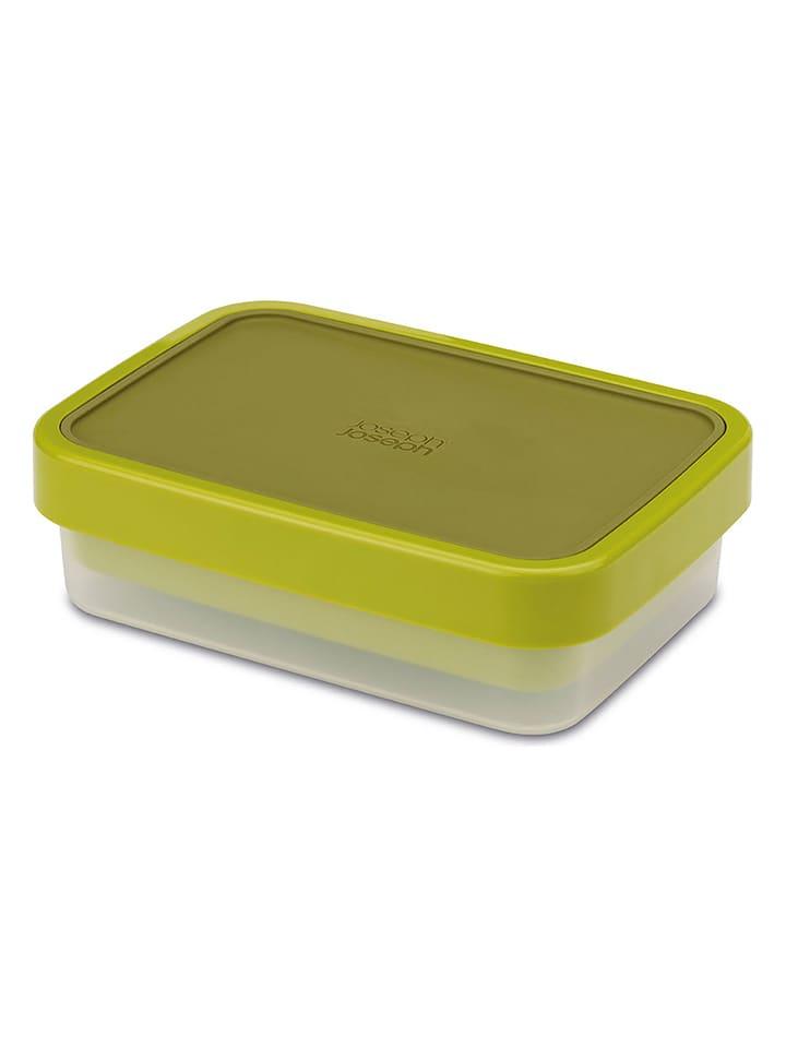 JosephJoseph Lunchbox kolorze zielonym - 19 x 8 x 14 cm