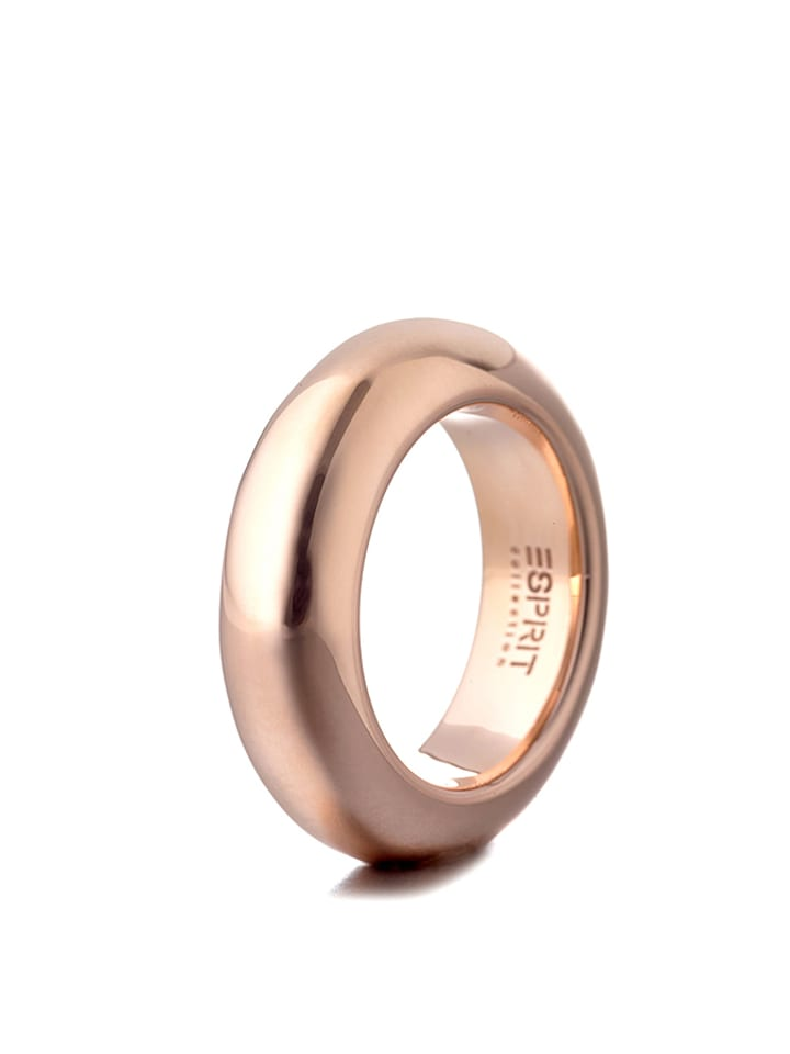 "ESPRIT Rosévergold. Silber-Ring ""Perimagna Rose"""