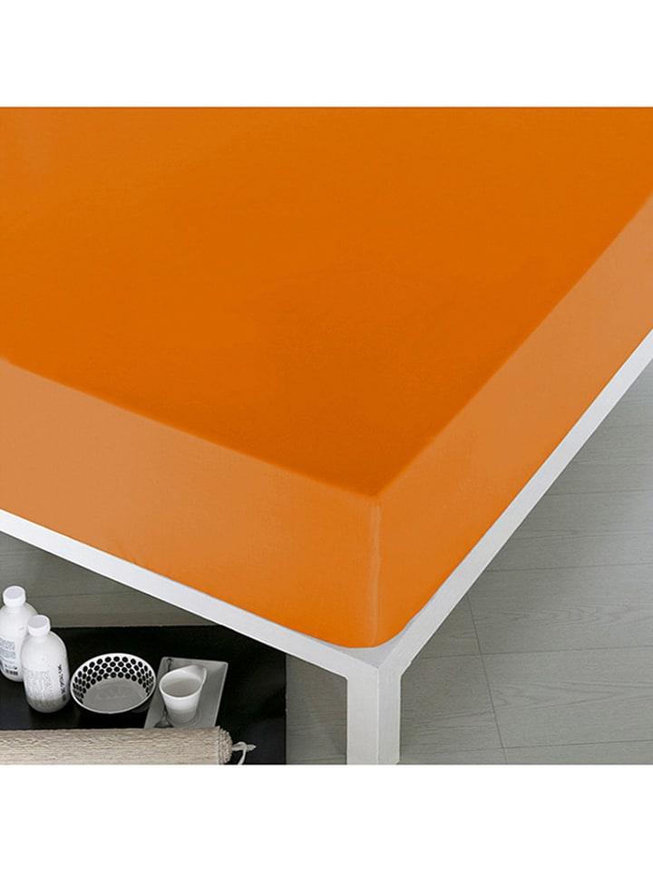 Dom z pomysłem Prześcieradło w kolorze pomarańczowym