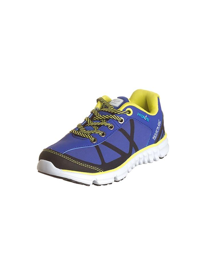 Regatta Buty sportowe w kolorze niebiesko-żółtym