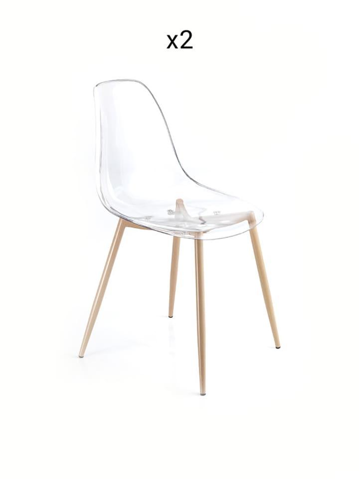 Tomasucci Krzesło w kolorze transparentnym