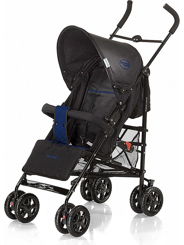"""Knorr-baby Spacerówka """"Commo Sport"""" w kolorze czarno-niebieskim"""
