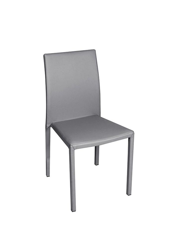 Unico Krzesło w kolorze szarym