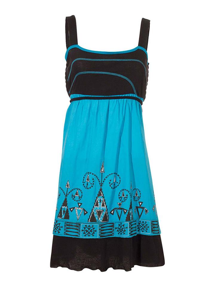 """KÉAWA Sukienka KÉAWA """"Mona"""" w kolorze niebiesko-czarnym"""