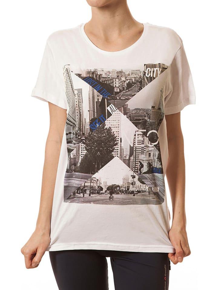 Adidas T-shirt w kolorze białym