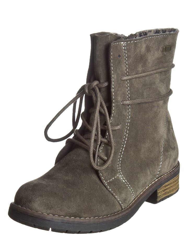 "Lurchi Leren boots ""Leona"" taupe"