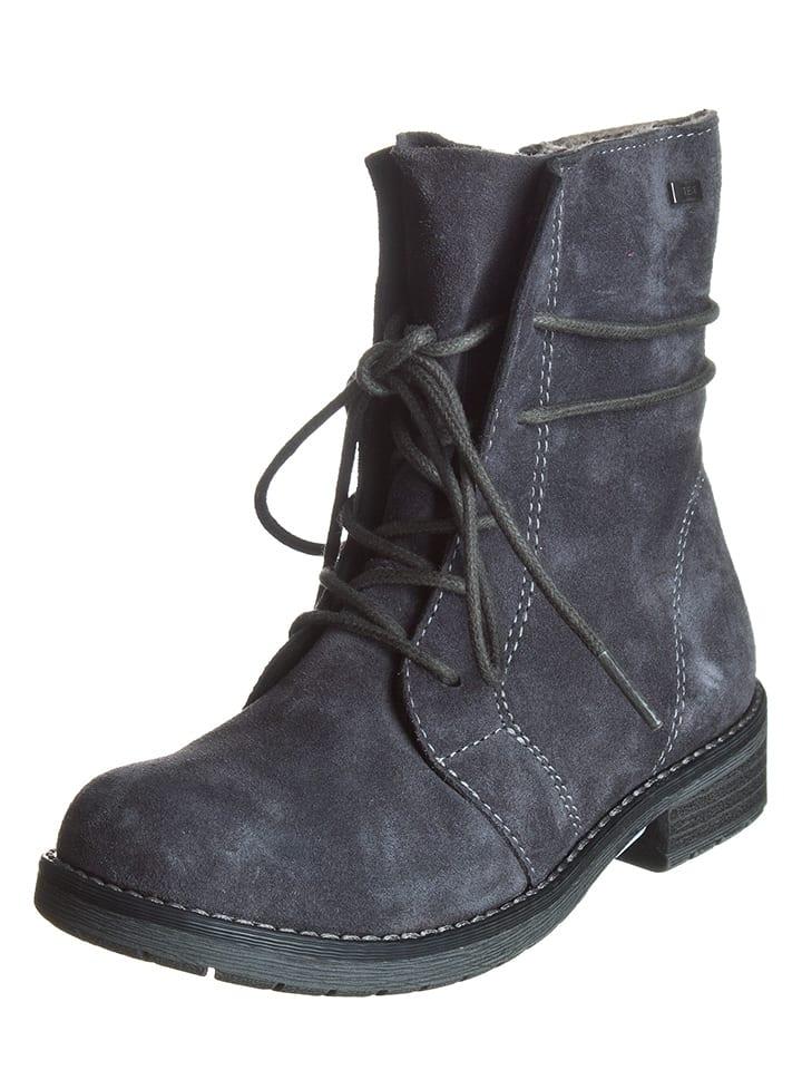 """Lurchi Leren boots """"Leona"""" blauwgrijs"""