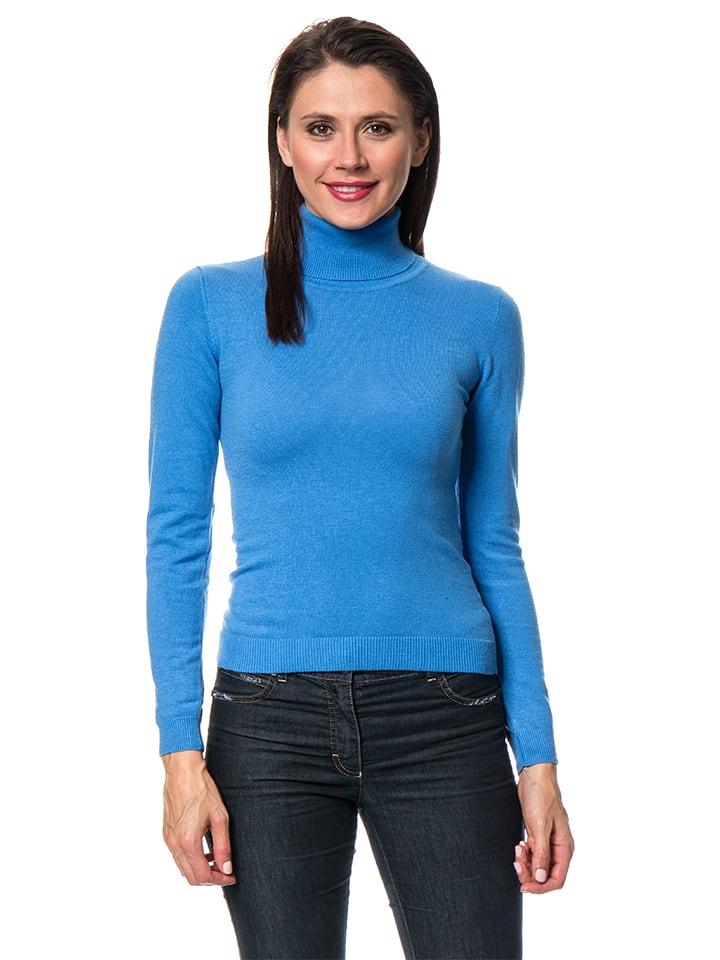 ASSUILI Pullover in Blau