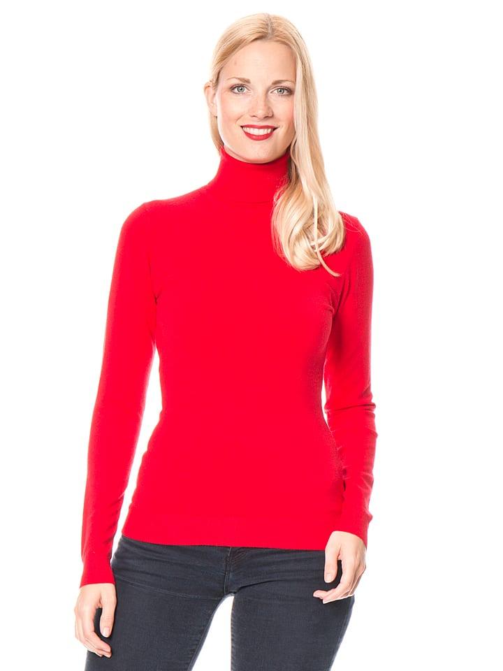 William de Faye Sweter w kolorze czerwonym