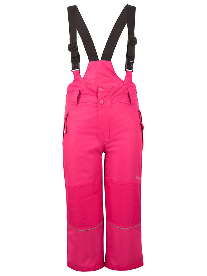 """Trollkids Spodnie narciarskie """"Telemark"""" w kolorze różowym"""