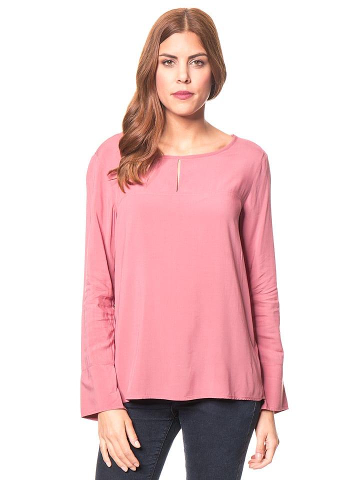 Koszulka w kolorze brudnego różu