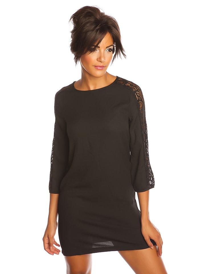 """Saint Germain Paris Sukienka """"Valie"""" w kolorze czarnym"""
