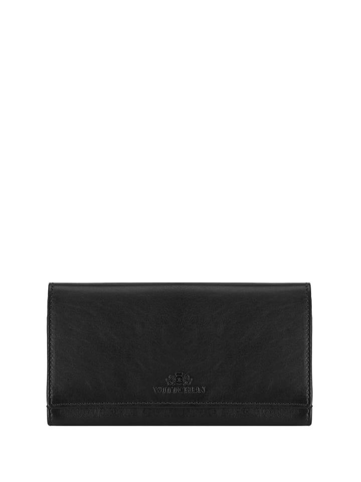 55224b332bf21 Wittchen Skórzany portfel w kolorze czarnym - (S)18