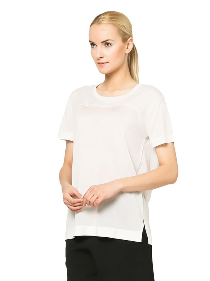 Deni Cler Sweter w kolorze białym