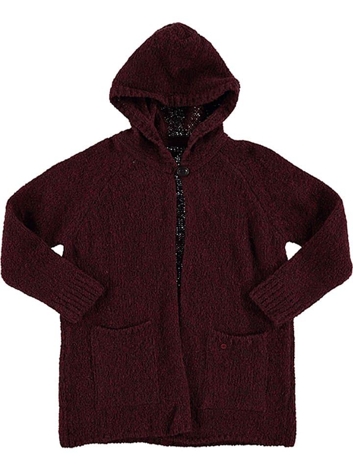 Marc O'Polo Junior Płaszcz w kolorze czerwonym