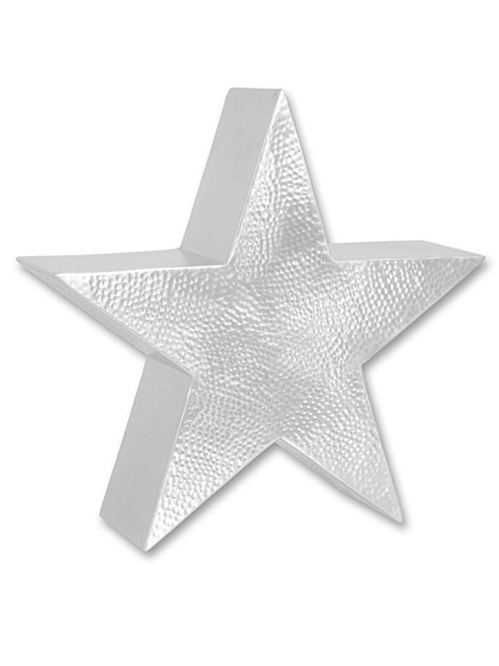 "Amsinck+Sell Dekofigur ""Stern"" in Silber - (H)15 cm"