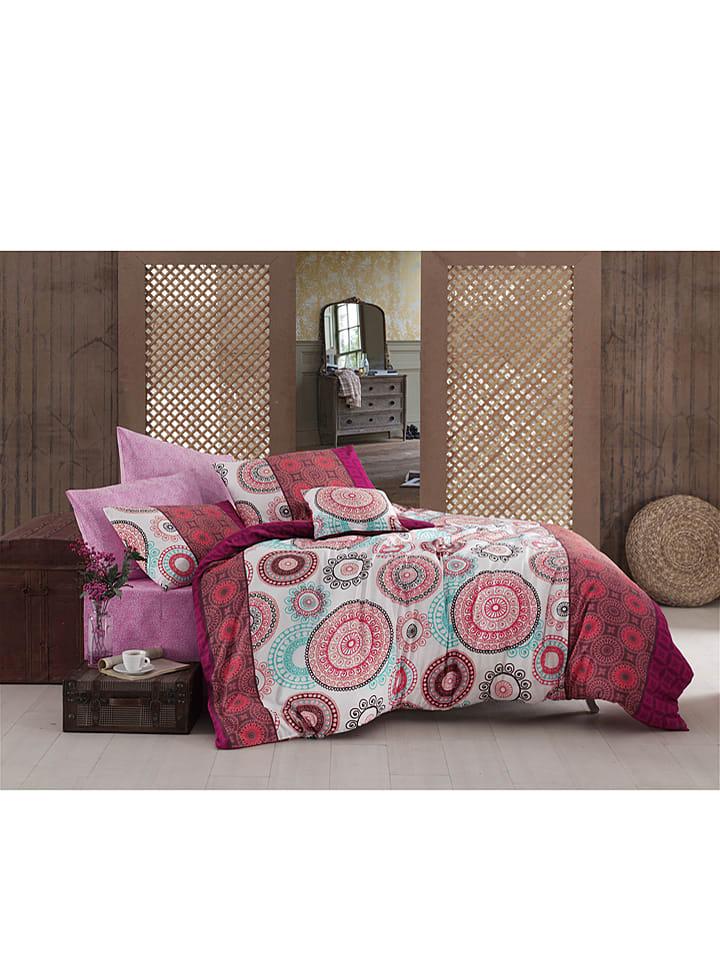 Sweet Home Bettwasche Set New Ringo Rot Pink Bunt Limango Outlet