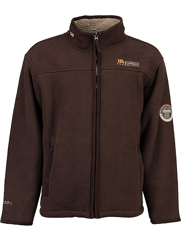 "Geographical Norway Polaire zippée ""Ulmaire"" - marron"