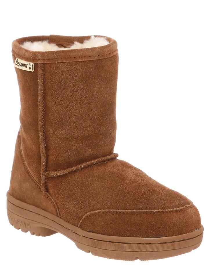 "Bearpaw Leder-Stiefel ""Meadow Toddler"" in Braun"