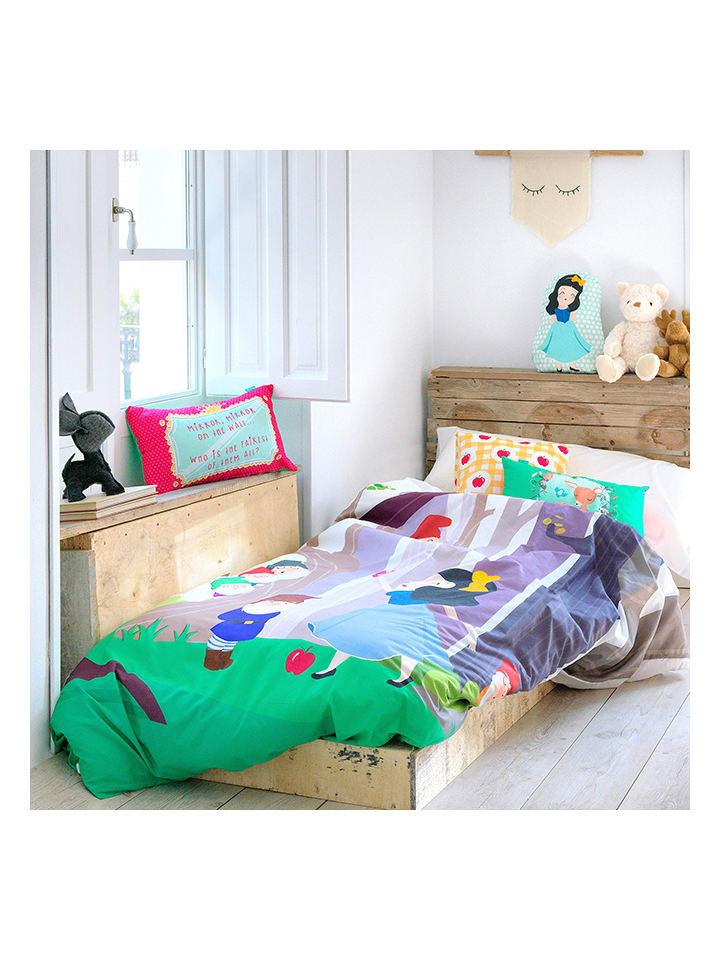 Mr Fox Bettwasche Set Snow White In Bunt Limango Outlet