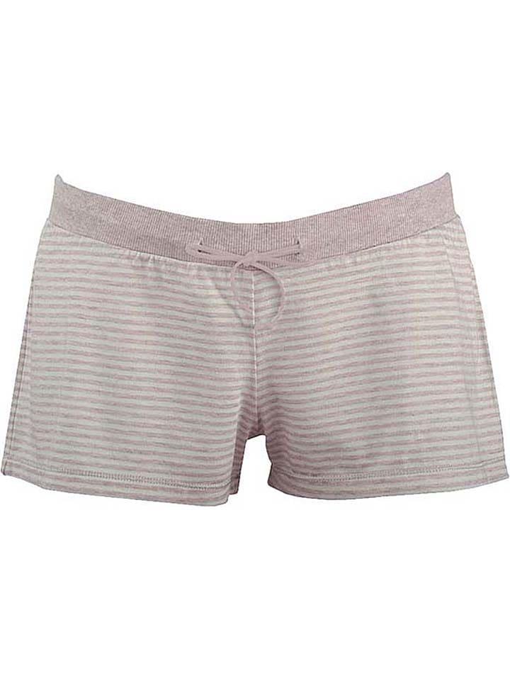 "Cache Coeur Pyjamashorts ""Joy"" in Beige"