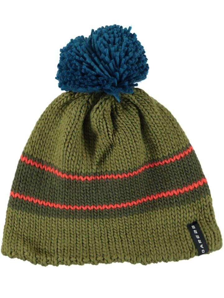 """Dare 2b Dzianinowa czapka """"ReckonWith"""" w kolorze zielono-turkusowym"""