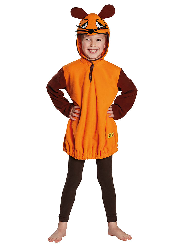 "Rubie`s Kostümkleid ""Die Maus"" in Braun/ Orange"
