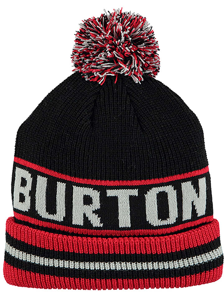 """Burton Czapka """"Trope"""" w kolorze czarno-czerwonym"""