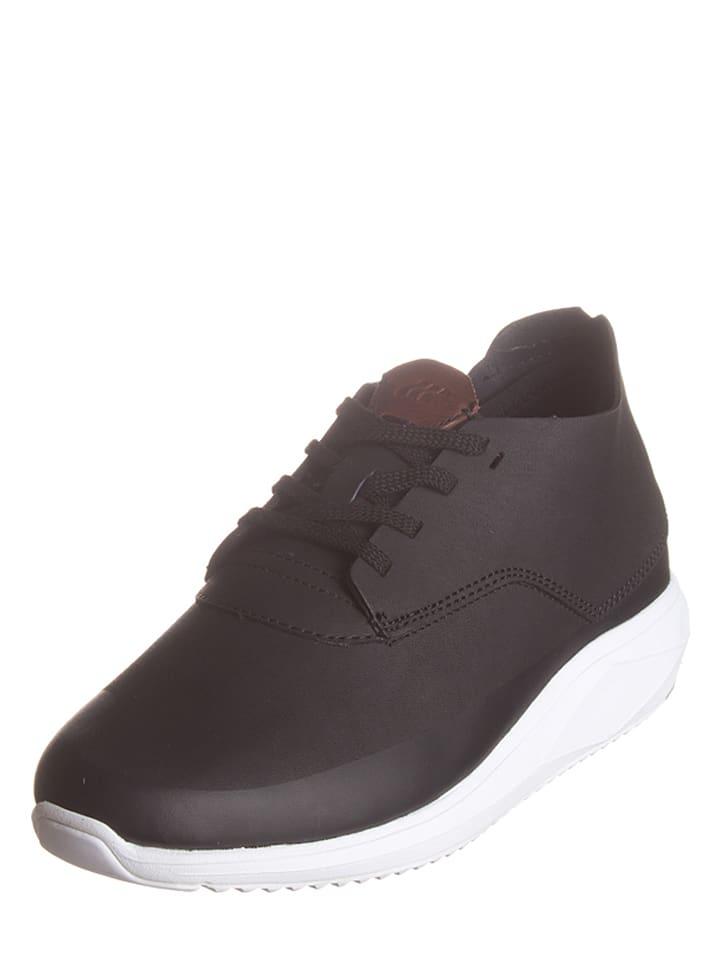 """Boxfresh Skórzane sneakersy """"Colum"""" w kolorze czarnym"""