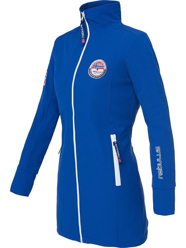 Nebulus Płaszcz softshellowy w kolorze niebieskim